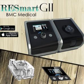 BMC RESMART AUTO GII СИПАП аппарат с увлажнителем фото 10