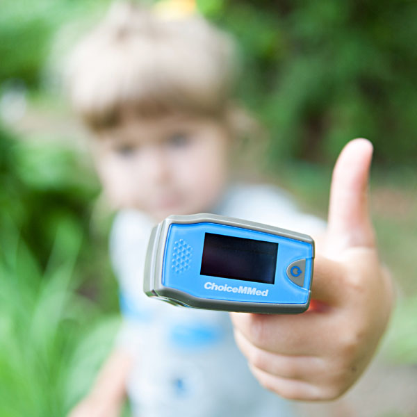 Пульсоксиметр Choicemmed MD300C5 детский фото 4